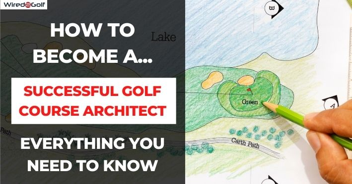 golf course architectural drawing